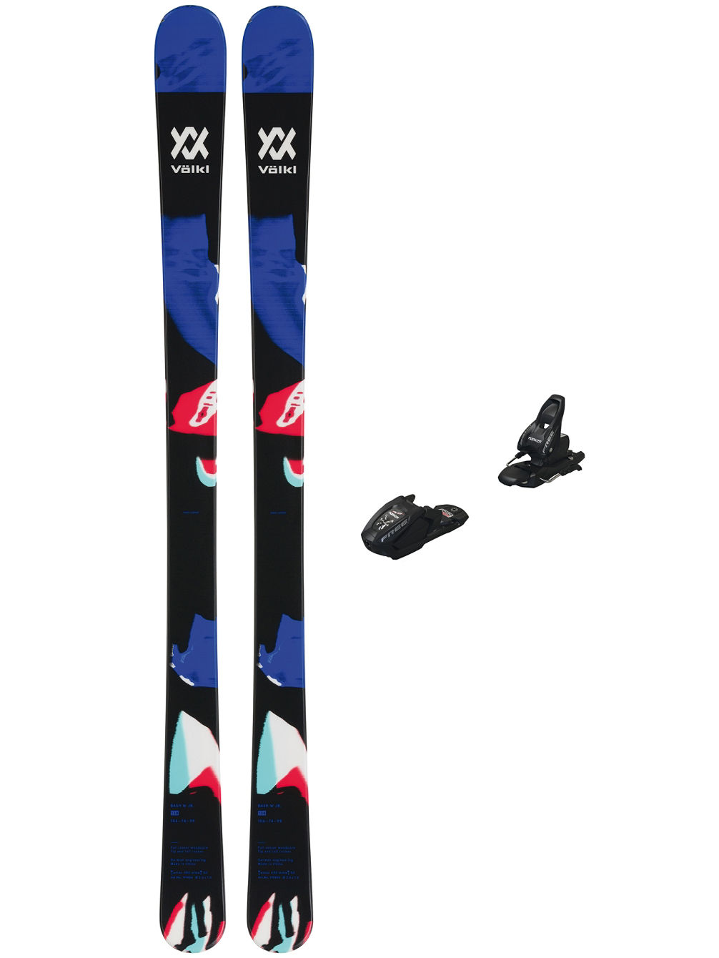 Bash W Jr 148 + Free 7 85 2020 Freeski-Set
