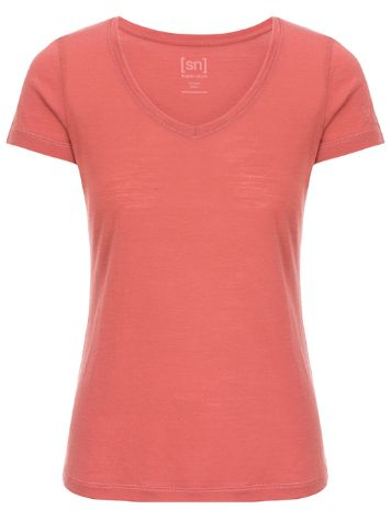 super.natural Base V-Neck 140 Funktionsshirt