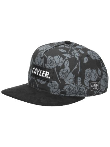 Cayler & Sons WL Statement Black Roses Snapback Cap