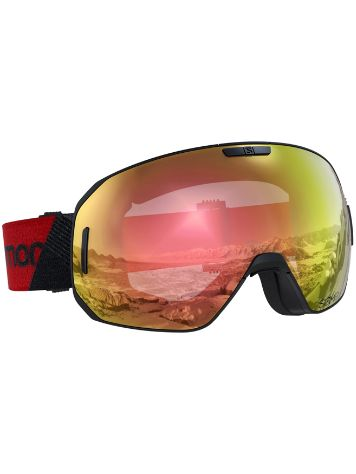 Salomon S/Max Photo Sigma Black/red Maschera