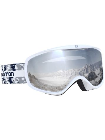 Salomon Sense White Glitch Goggle