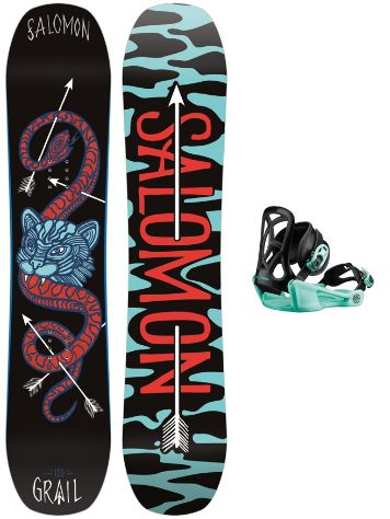 Salomon Grail 120 + Goodtime XS 2020 Snowboard Set