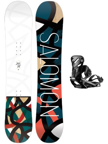 Salomon Lotus 151 + Rhythm 2020 Snowboard Set
