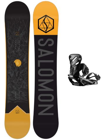 Salomon Sight 159 + Rhythm L 2020 Snowboard Set