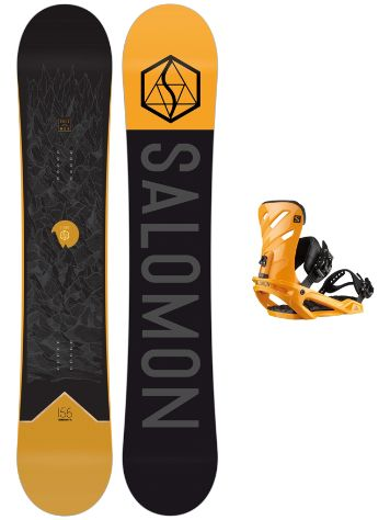 Salomon Sight 150 + Rhythm M 2020 Snowboard Komplet