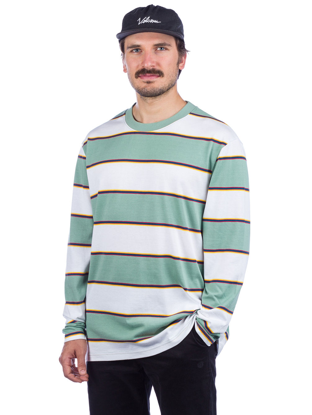 Primo Stripe Long Sleeve T-Shirt