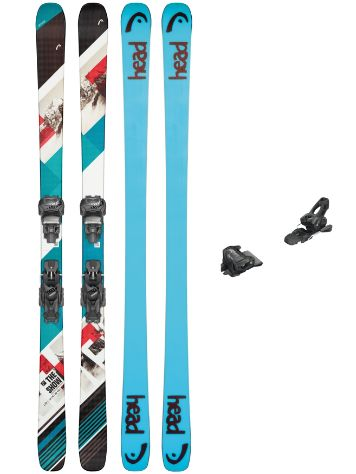Head The Show 154 + Attack 11 90mm 2020 Freeski-Set