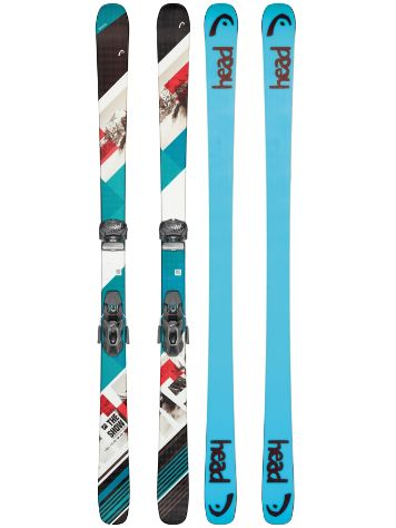 Head The Show 163 + Attack 11 90mm 2020 Freeski-Set