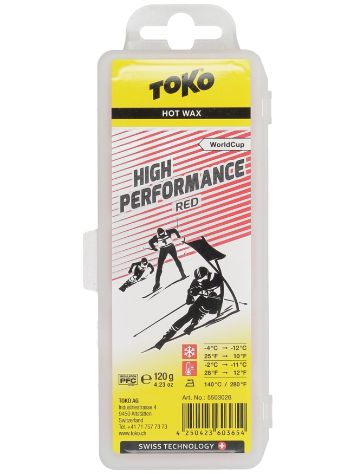 Toko High Performance Red -2°C / -11°C Wachs