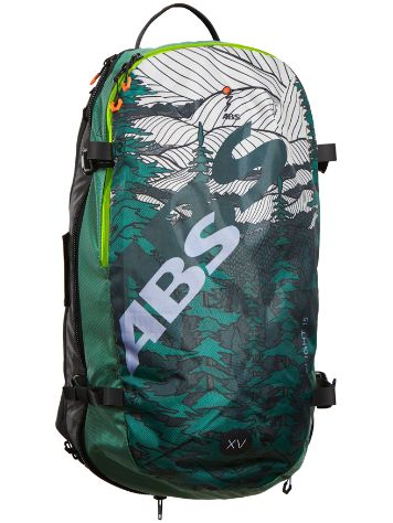 ABS S.Light Compact Zip-On 15L Backpack