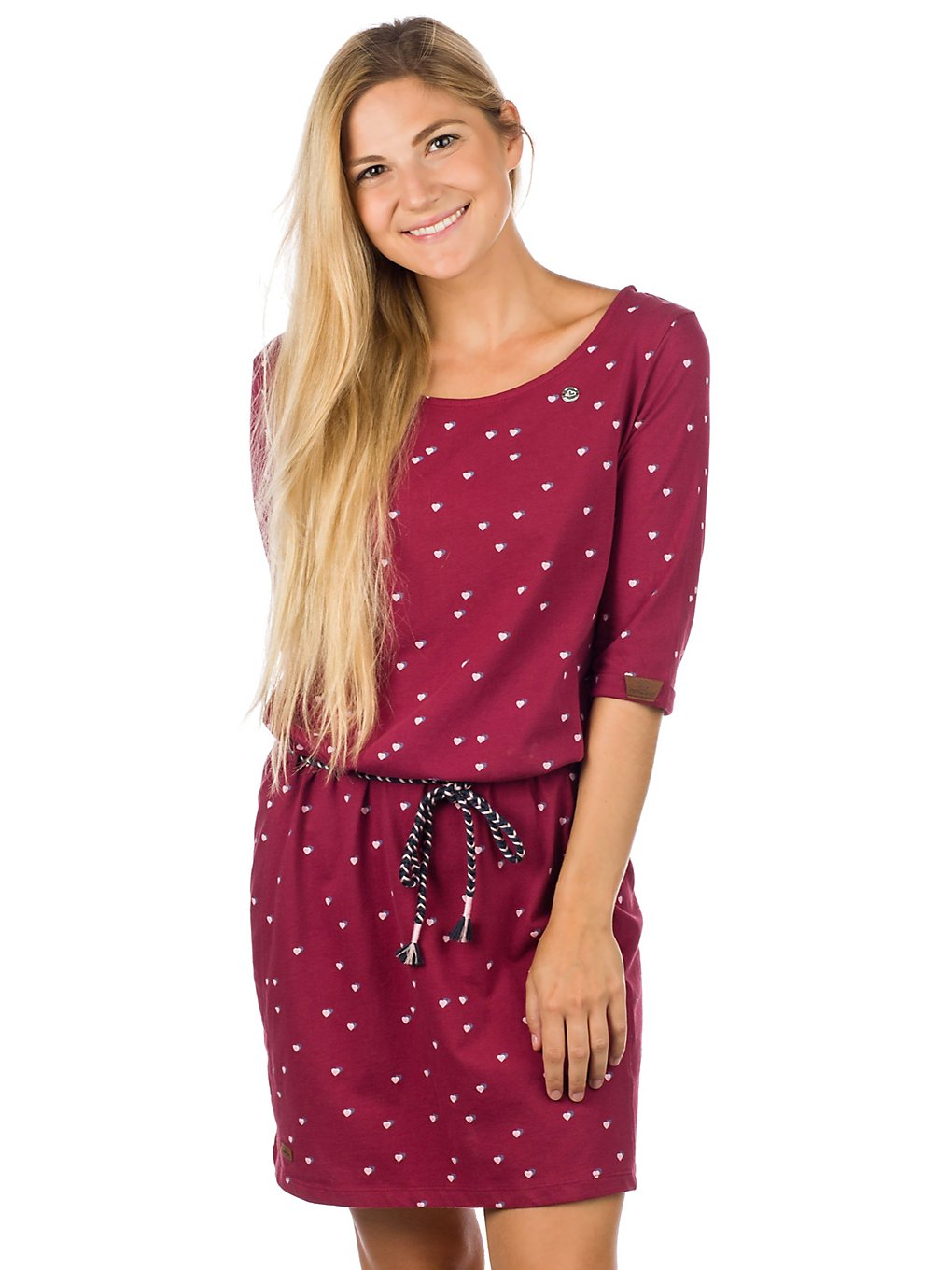 ragwear Tamy Dress wine red