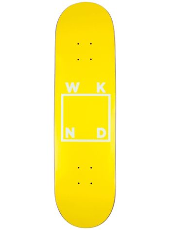 WKND Logo Yellow 8.25'' Skateboard Deck