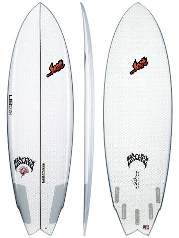 Lib Tech X Lost Round Nose Fish 5'10 Surfboard