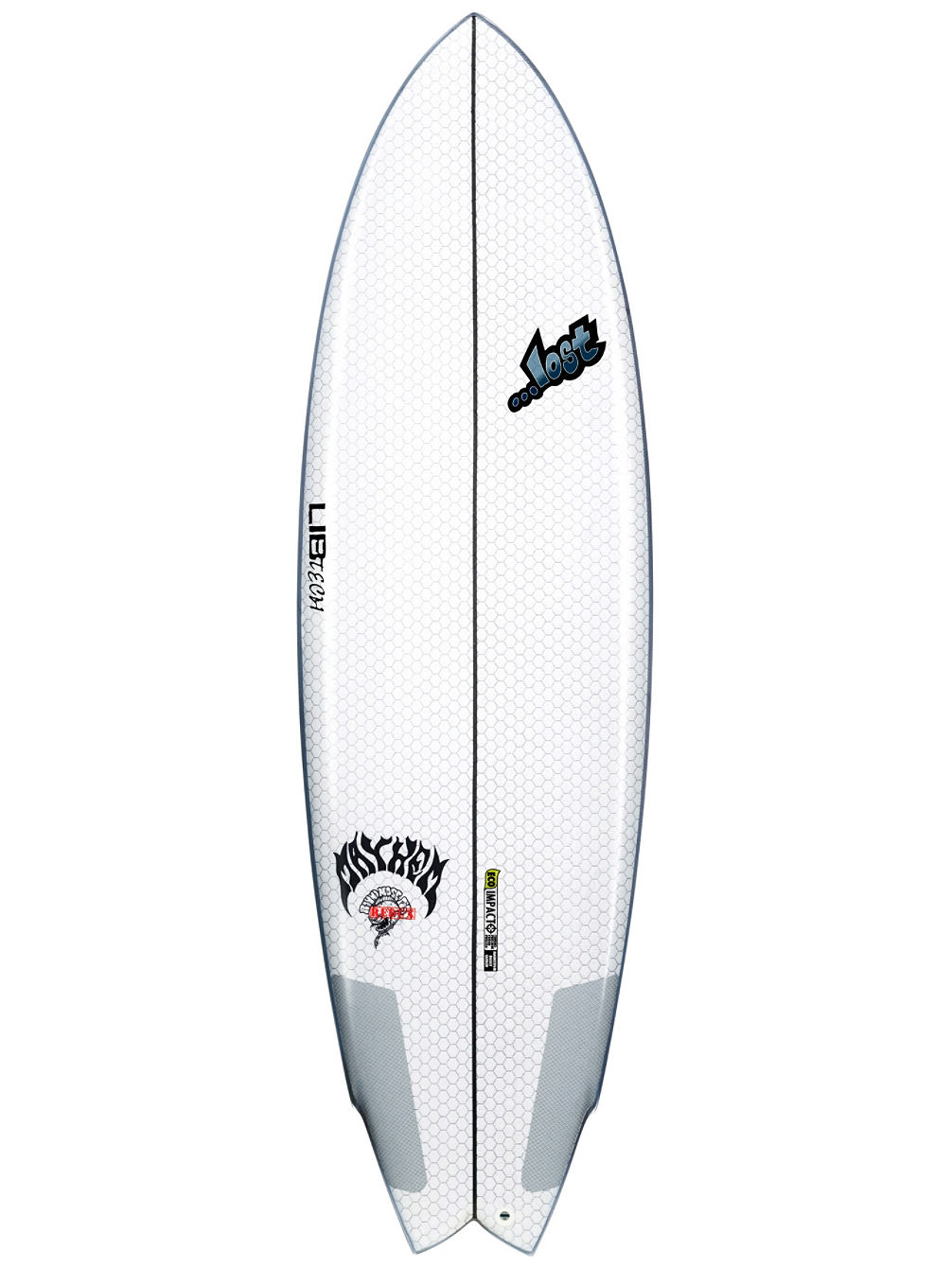 X Lost Round Nose Fish 6'0 Surfboard