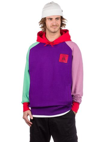 Teddy Fresh Block Purple Pulover s Kapuco