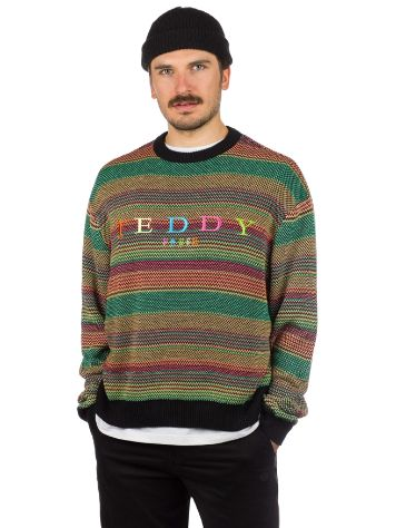 Teddy Fresh Rainbow Strikket genser