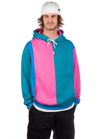 Teddy Fresh Color Blocked Love Hættetrøje