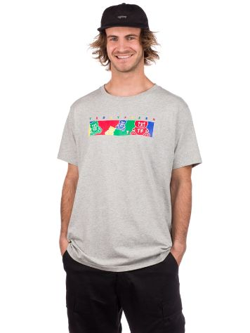 Teddy Fresh Colorbar Camiseta