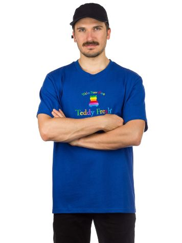 Teddy Fresh Rainbow Silouette Camiseta