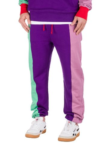 Teddy Fresh Color Block Pantalon de Survêtement