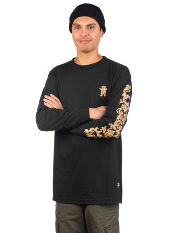 Grizzly Gold Leaf Langarmshirt