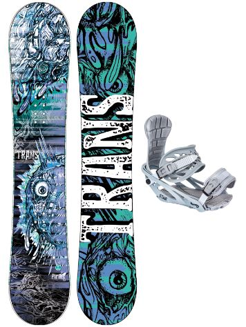 TRANS Pirate 156 + Star M 2020 Set da Snowboard