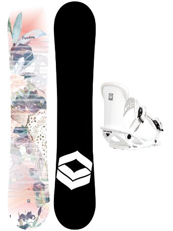 FTWO Freedom 147 + Pipe M 2020 Snowboard Set