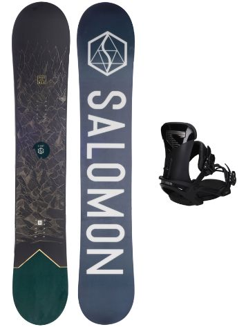 Salomon Sight X 162W + Trigger X L 2020 Snowboard Set
