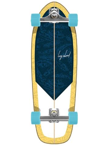 "Long Island Longboards Papaya Li 9.5"" x 29.5"" Complete"