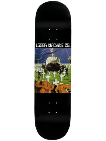 "Loser Machine Sbk X Unforgiven 8.5"" Skateboard Deck"