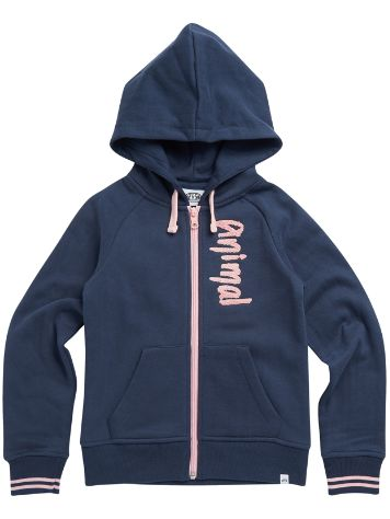 Animal College Zip Hoodie