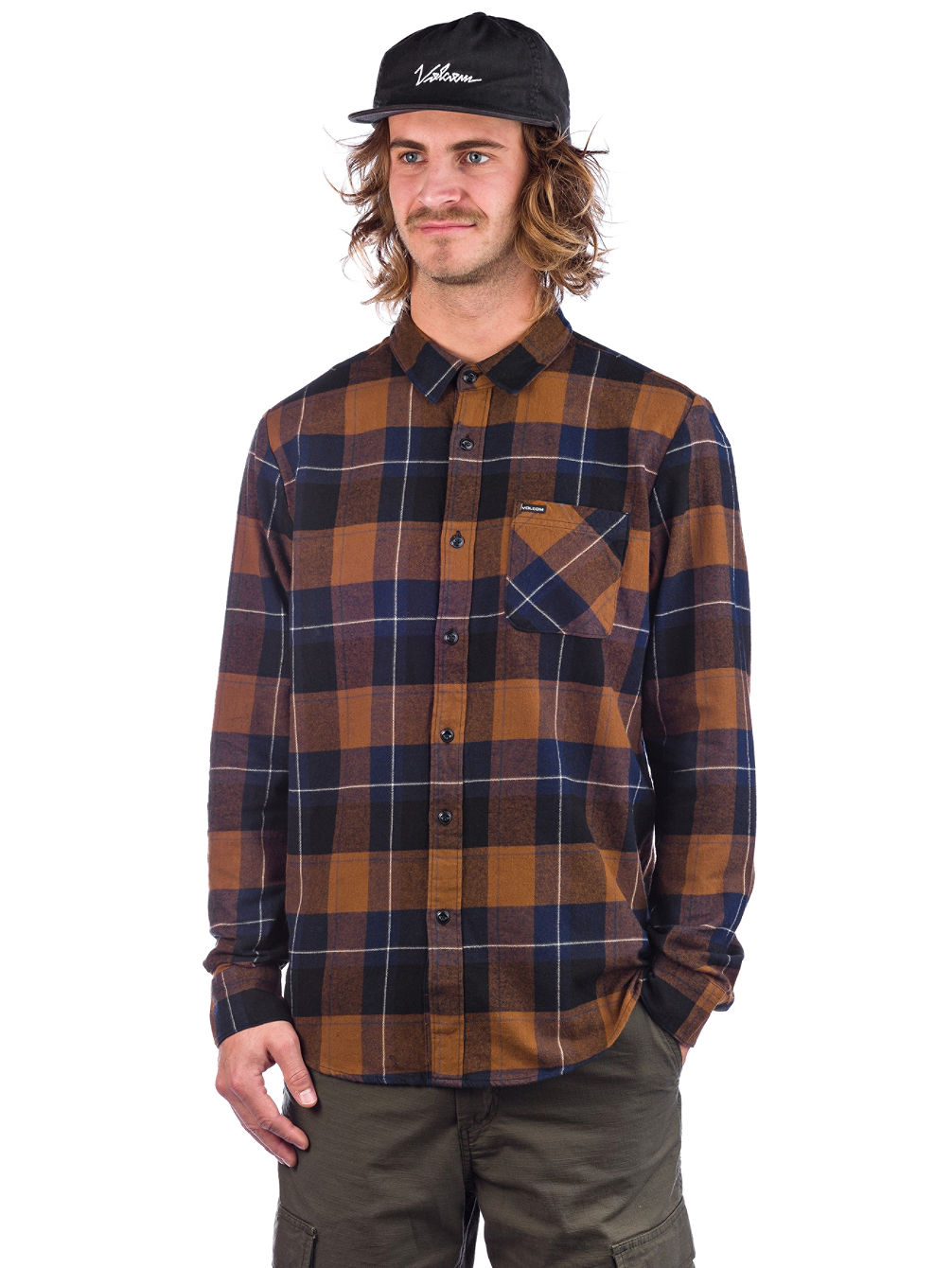 Caden Plaid Tricko