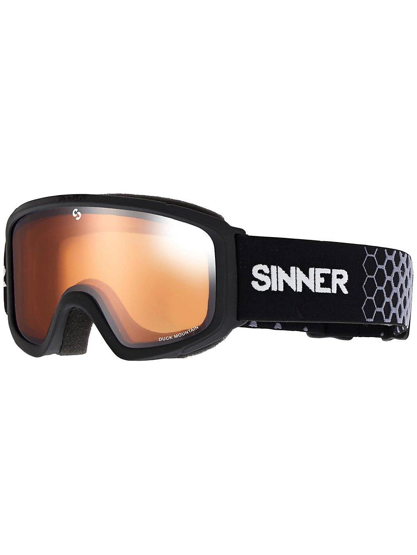 Sinner Duck Mountain Matte Black dbl orange