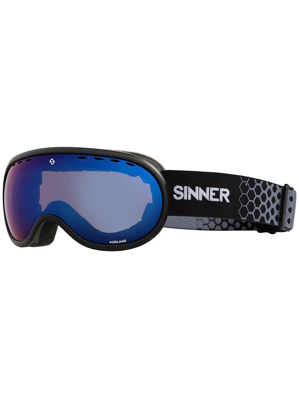 Sinner Vorlage Matte Black dbl full blue mirror