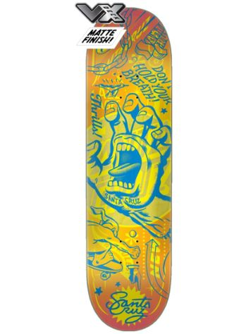 "Santa Cruz Flash Hand VX 8.25"" Skateboard Deck"