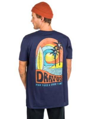 Netthandel Dravus Camping Trippin T skjorte hos Blue Tomato