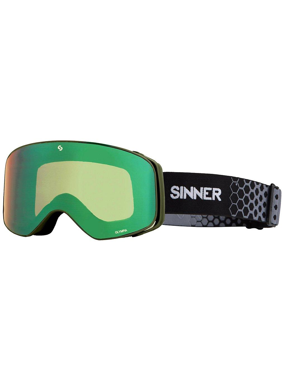 Sinner Olympia Matte Moss Green double full green mirror
