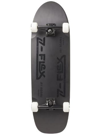"Z-Flex J Adams Metalflake 33"" Black Skateboard"