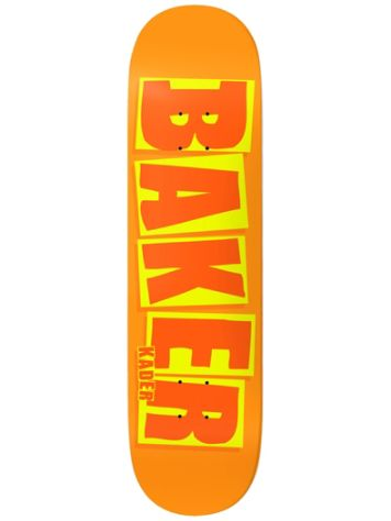 Baker K Silla Brand Name B2 Orange 8.5'' Deck