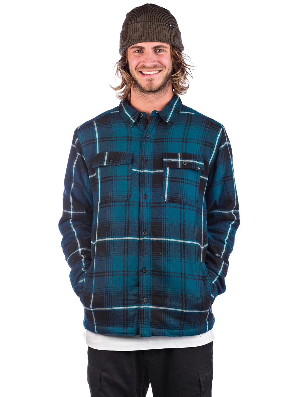 Sherpa Flannel Chemise