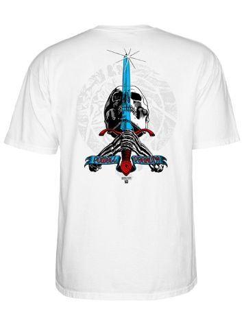 Powell Peralta Triple P Skull And Sword T-Shirt