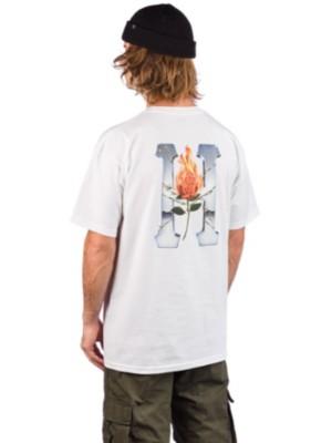 HUF EMBER ROSE - Långärmad tröja - white