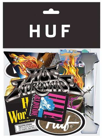 HUF HO19 Sticker Pack