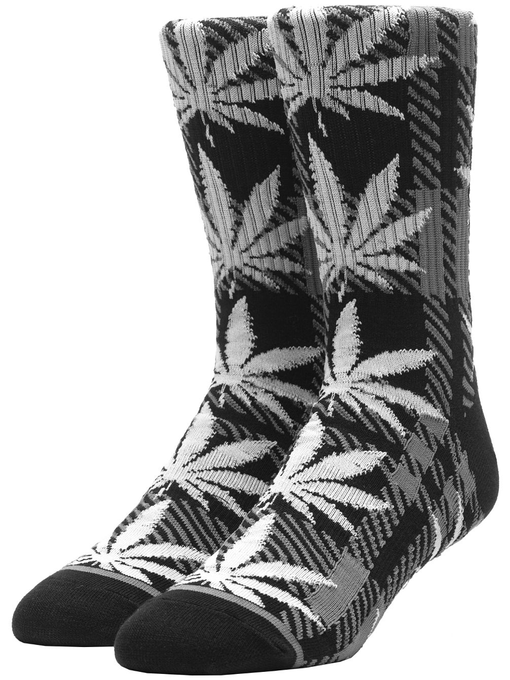 Plaid Plantlife Socks