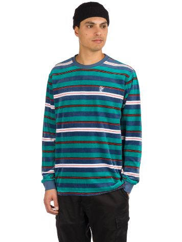 HUF Unveil Stripe Velour Sweater