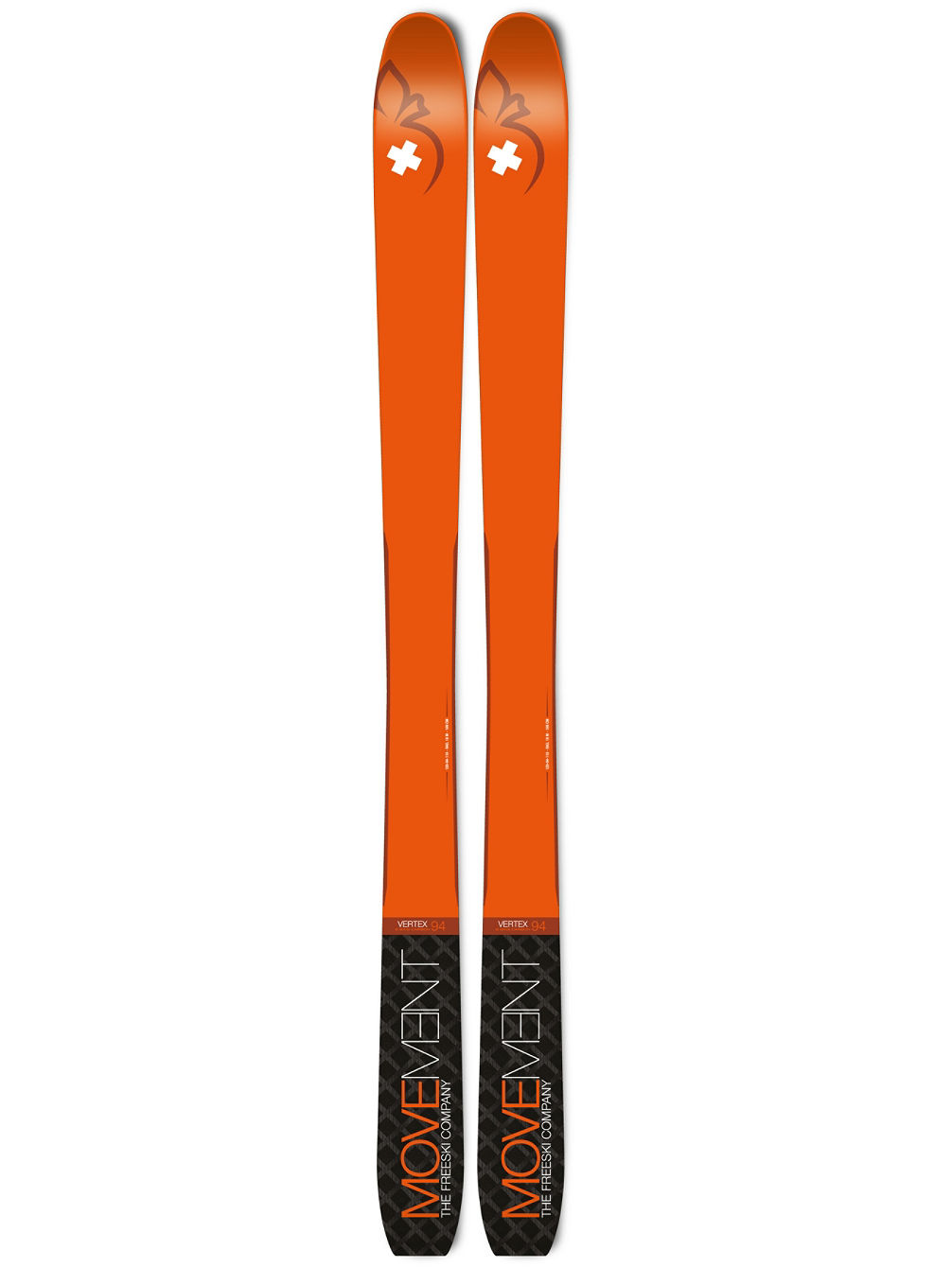 Vertex 94 183 2020 Skis de Travesía