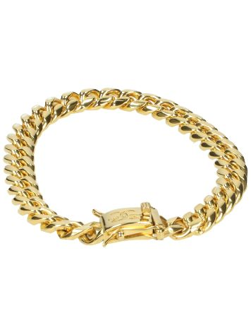 The Gold Gods Miami Cuban 8mm Link Bracelet