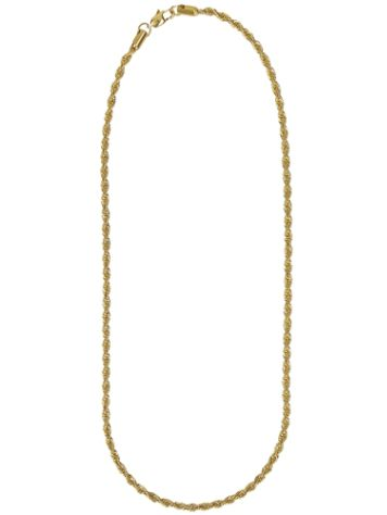 "Gold Gods Rope 22"" 4mm Chain"