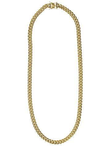 "Gold Gods Miami Cuban 8mm 24"" Link Chain"