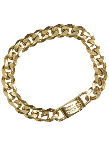 The Gold Gods Flat Edge Cuban Link Bracelet